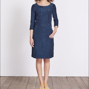 Boden Denim Dress -12